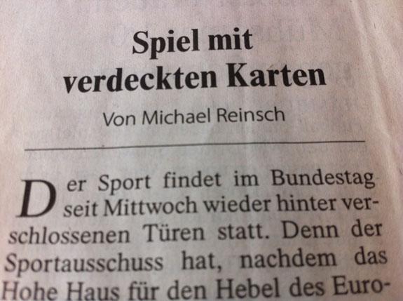 Frankfurter Allgemeine Zeitung, 27.10.2011