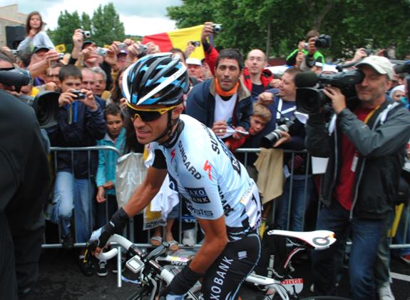 AC bejubelt, 15. Etappe der Tour de France 2011 - Foto: jsachse
