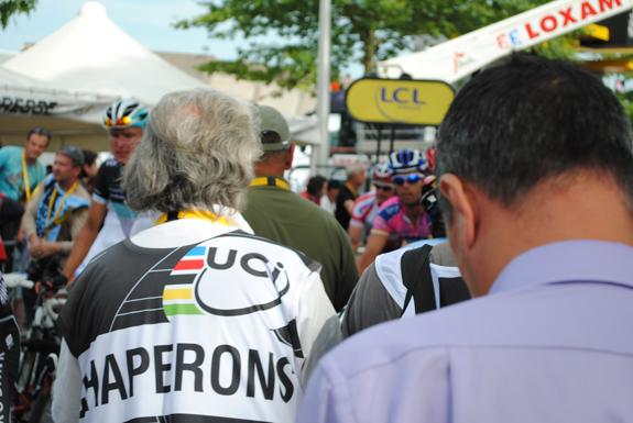 Chaperons bei der Tour de France